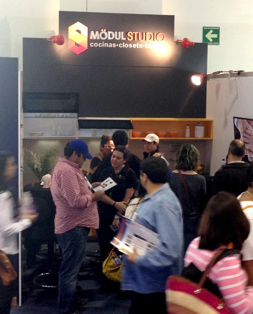 Mödul Studio se presentó por vez primera en Expo Franquicias en la Ciudad de Mexico.