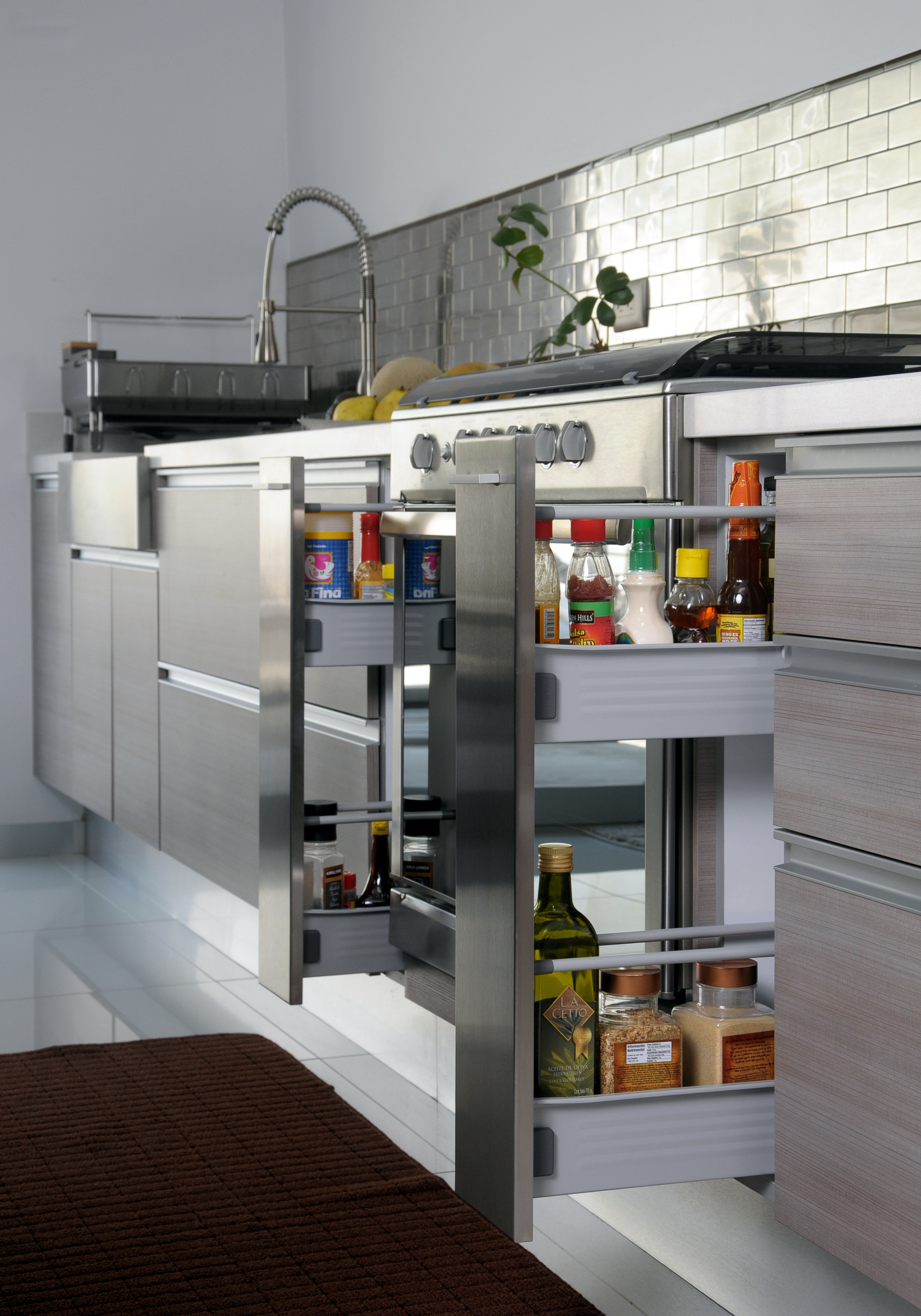 Muebles Funcionales Para Espacios Reducidos Muebles Que Quedan A  # Muebles Pequenos Para Cocina