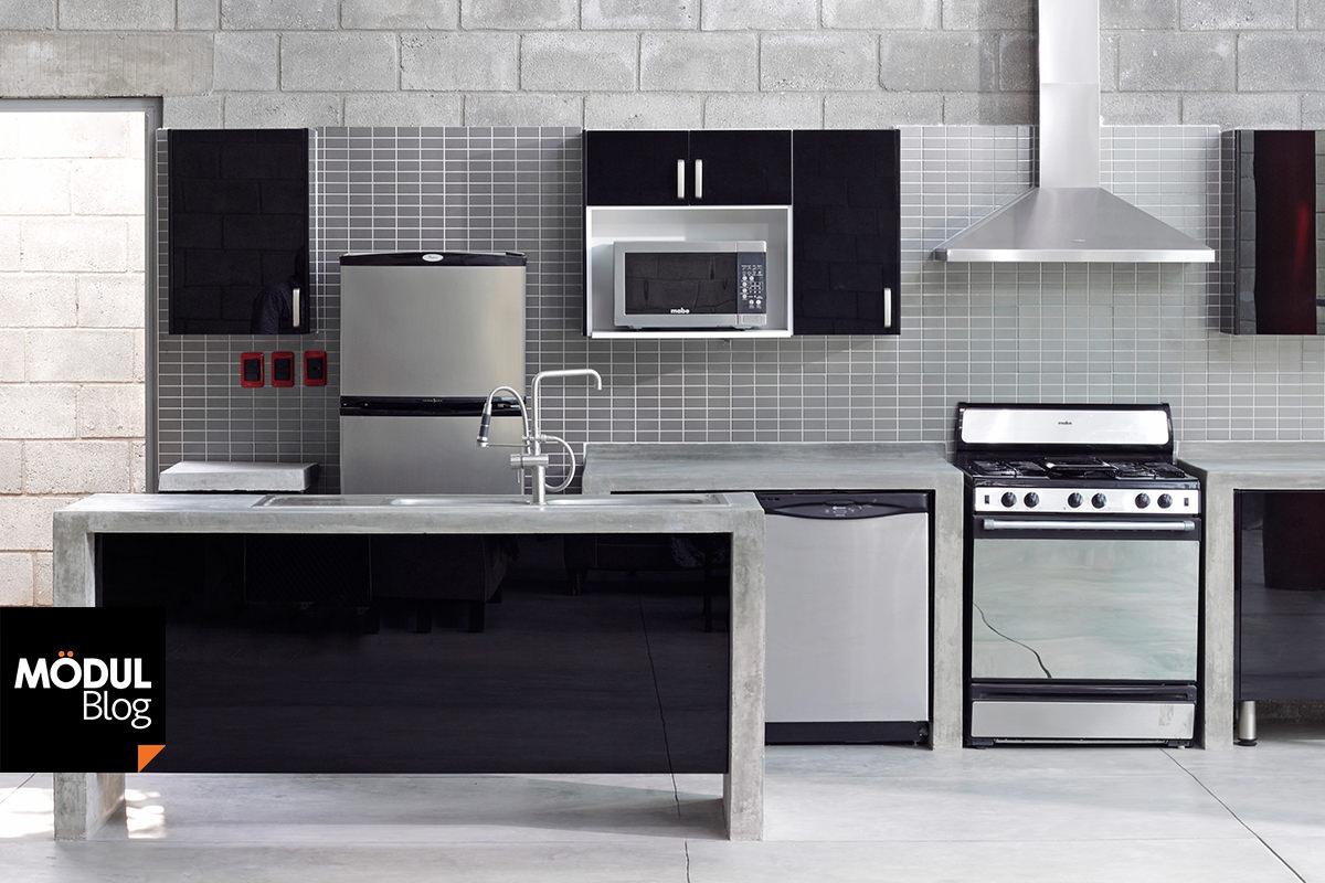 Cocina negra? ¡Haz que luzca! – Blog de Mödul Studio