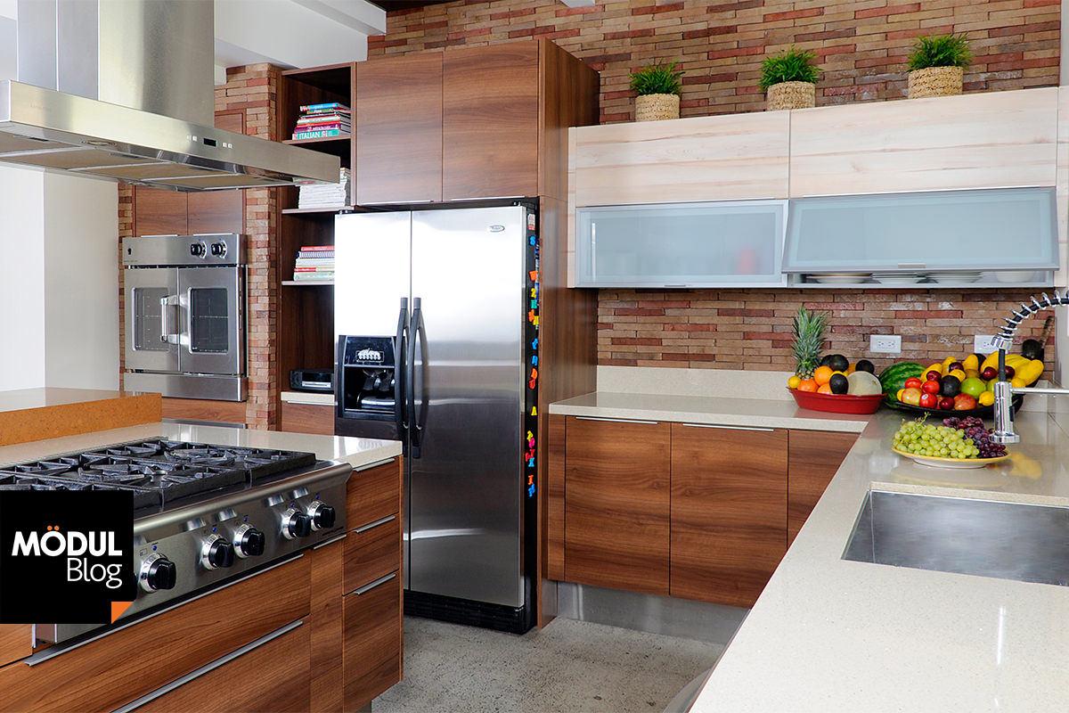 Único Refrigeradores Para Cocinas Pequeñas Viñeta - Ideas de ...