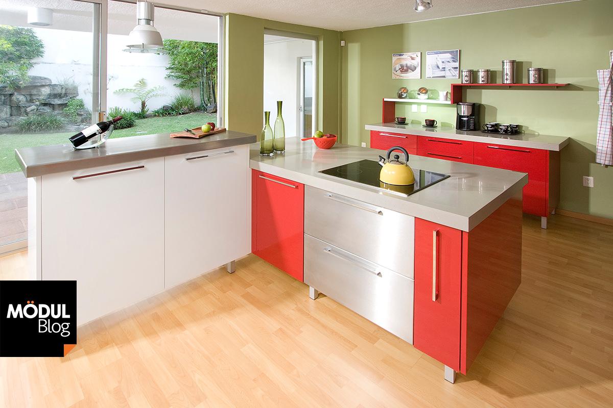 Cocinas de colores colores para la cocina para cocinas for Cocinas colores