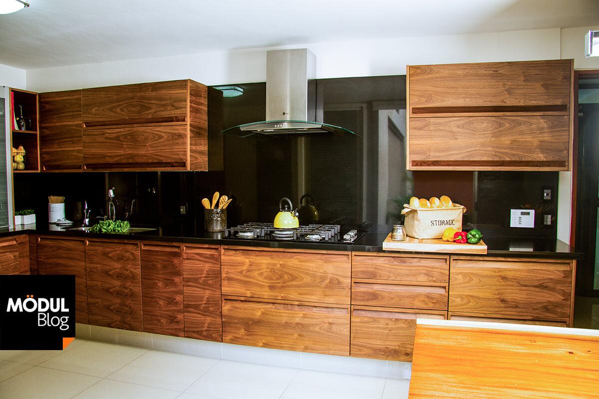 Acabados de cocinas otros acabados el es un material for Cocina integral