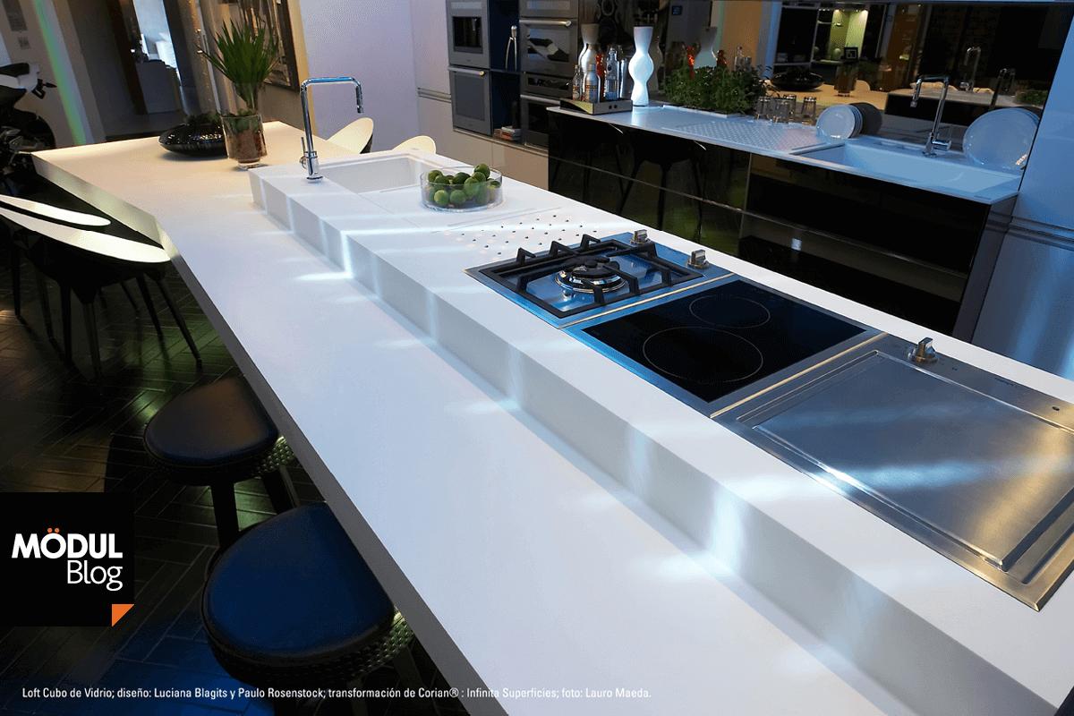 la superficie slida corian el material que vuelve tu cocina ms esttica y funcional